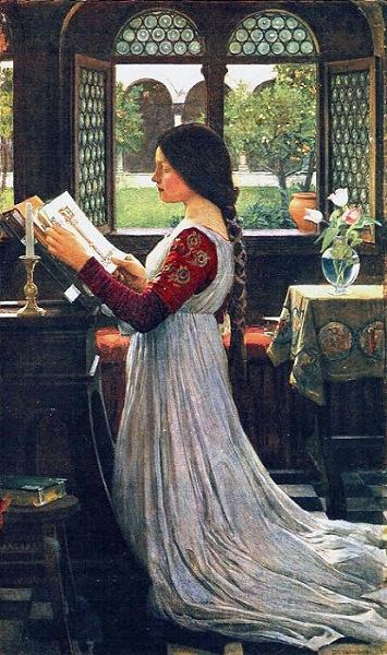 the-missal-john-william-waterhouse