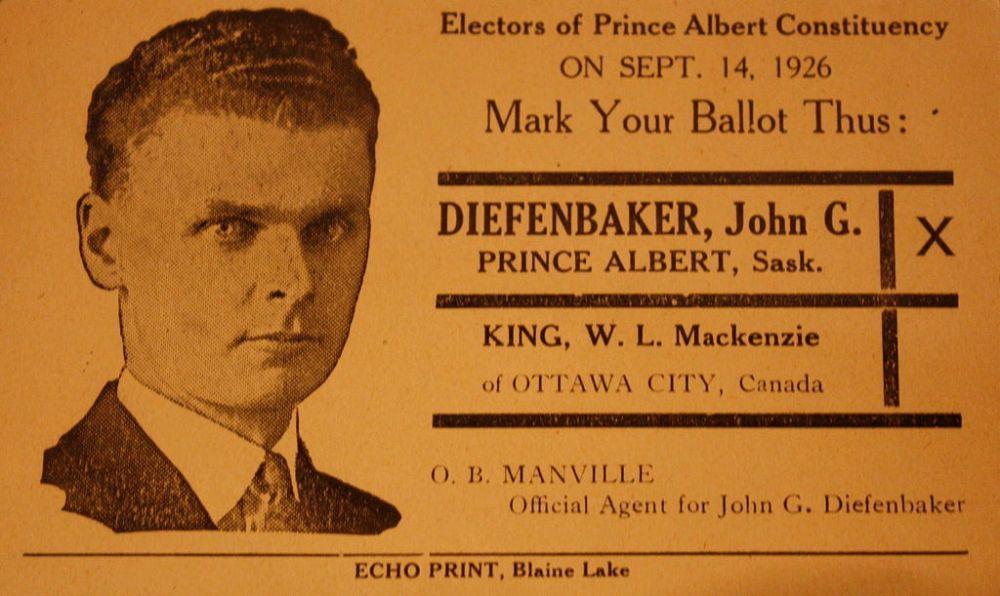 Diefenbaker 1926