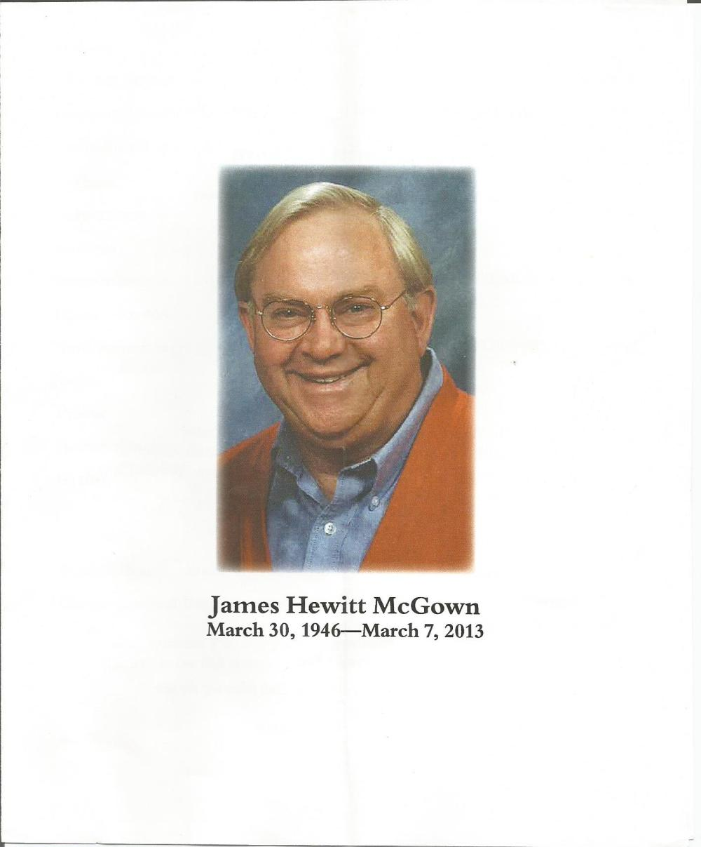 James Hewitt McGown