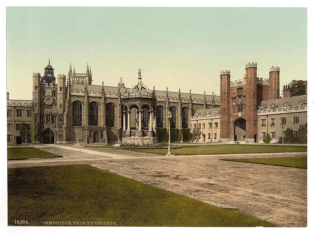 Trinity College, Cambridge, England