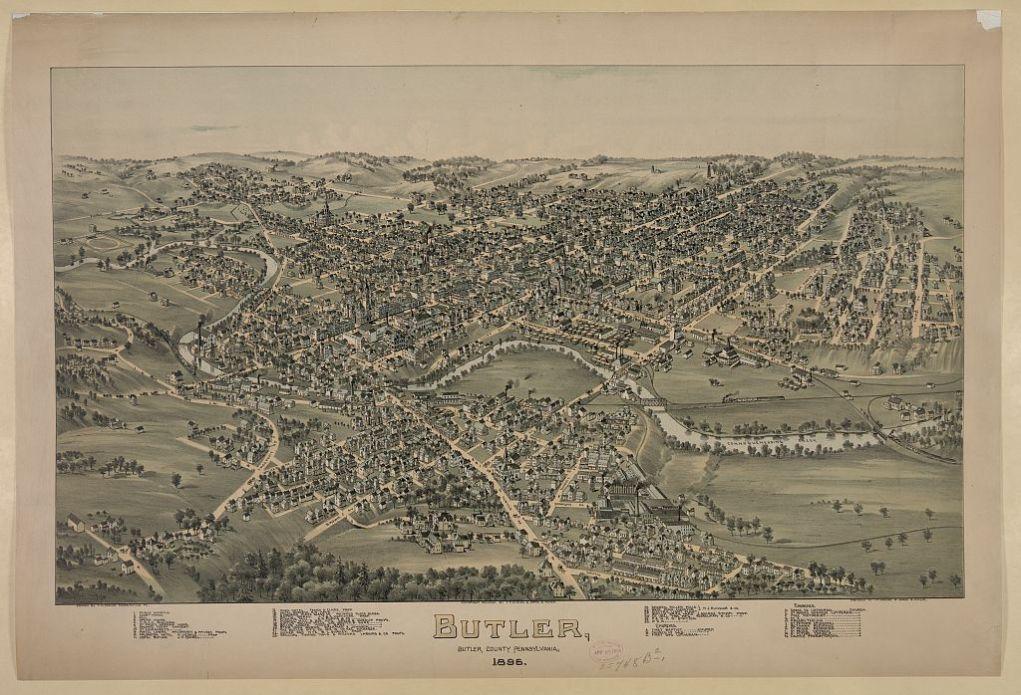 Butler, Pennsylvania, 1895