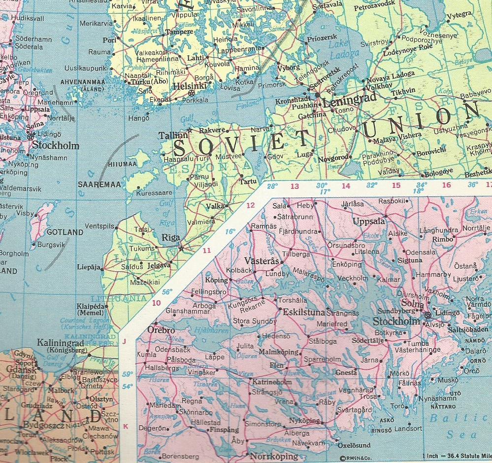 Saaremaa Island 1968