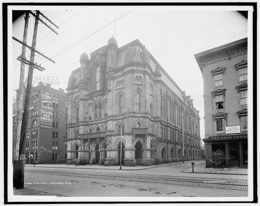 City Hall, Columbus, Ohio, 1900