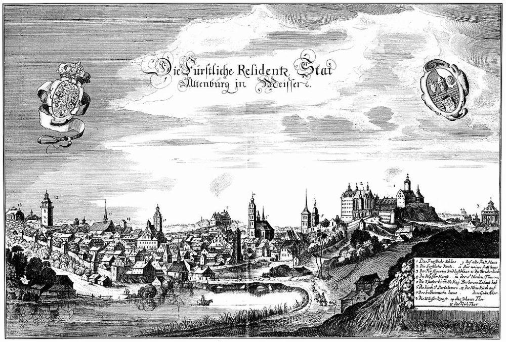 Altenburg Circa 1650