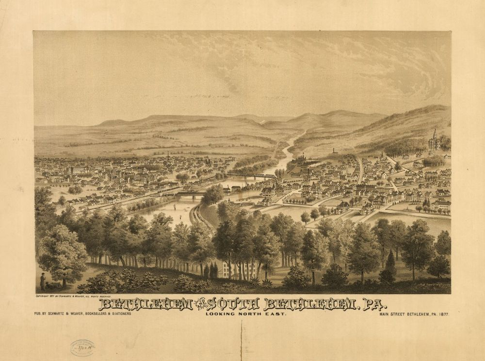 Bethlehem and South Bethlehem 1877