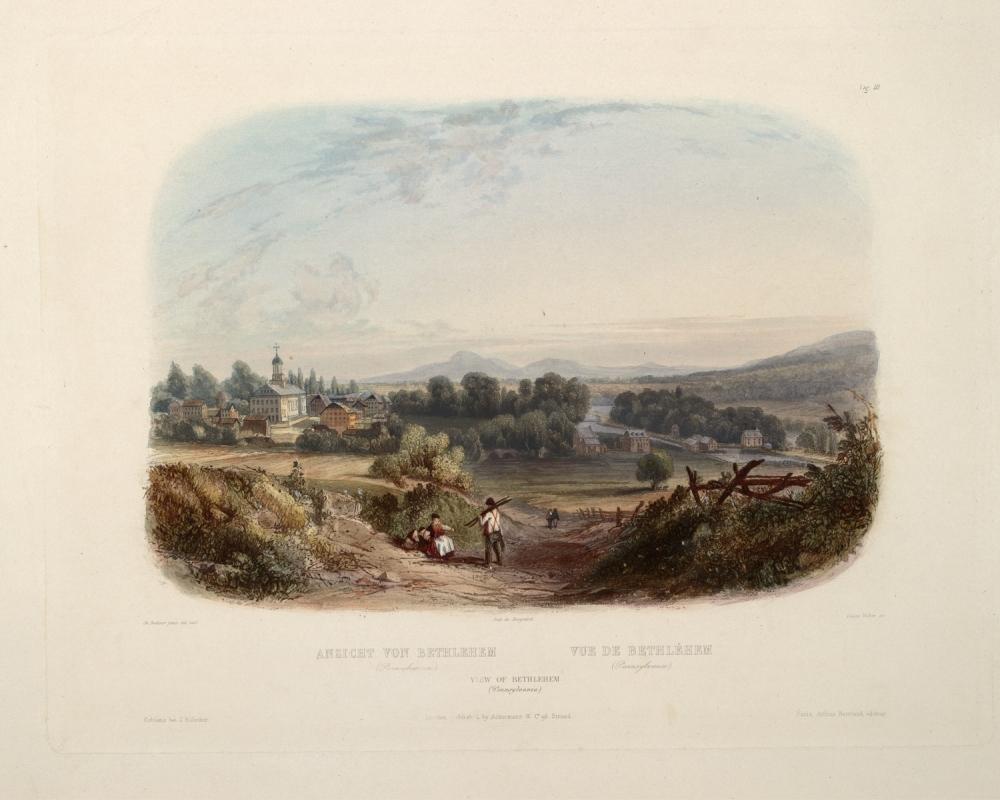 Bethlehem, Pennsylvania, 1832