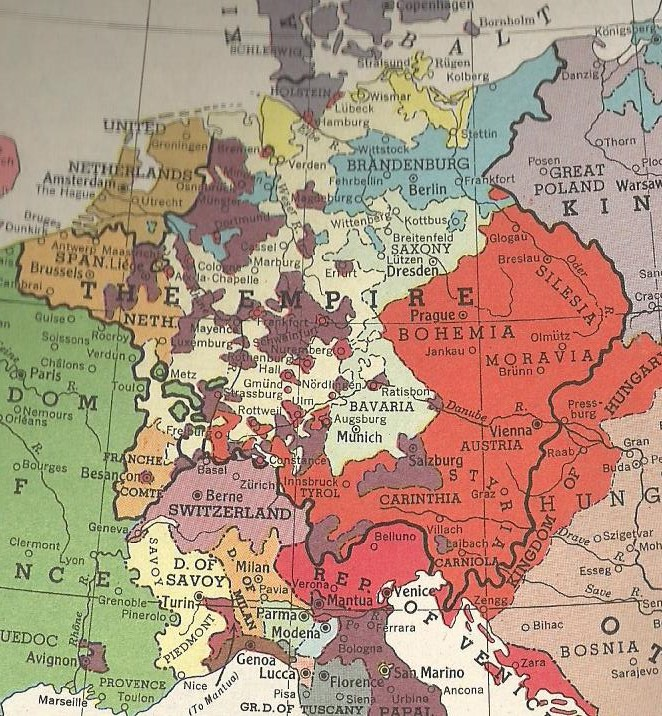 Holy Roman Empire 1648