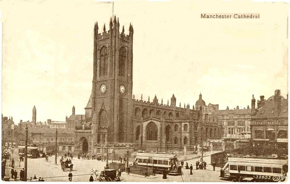 Manchester Cathedral 1903