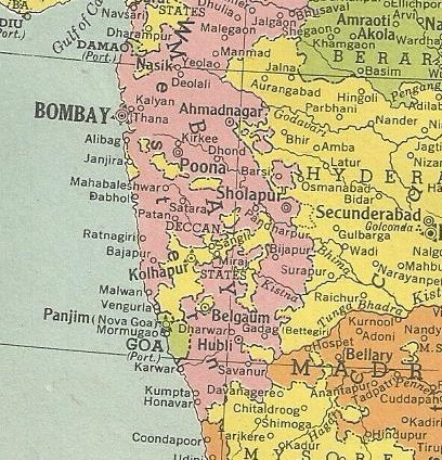 Part of India, 1945