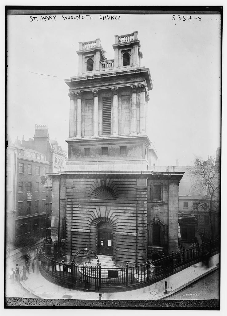 St. Mary Woolnoth Church, London