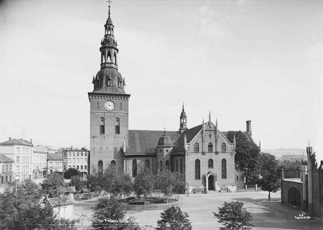 Church of Our Savior, Christiana, 1880s