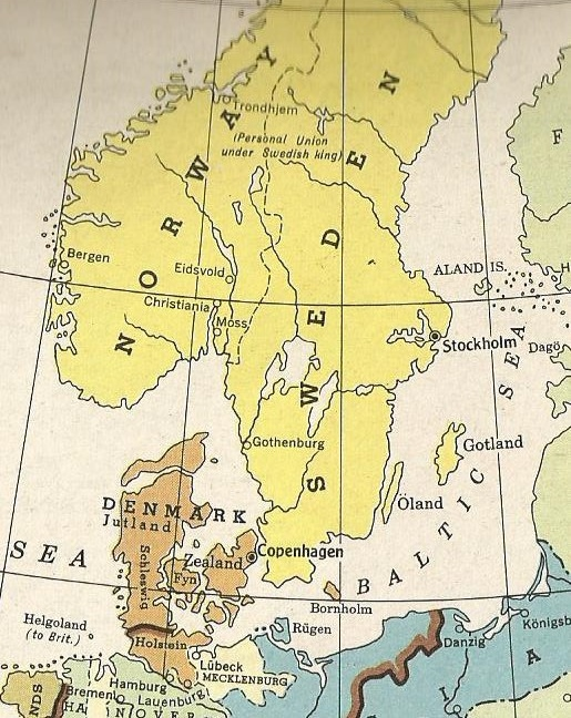 Denmark and Sweden-Norway 1815