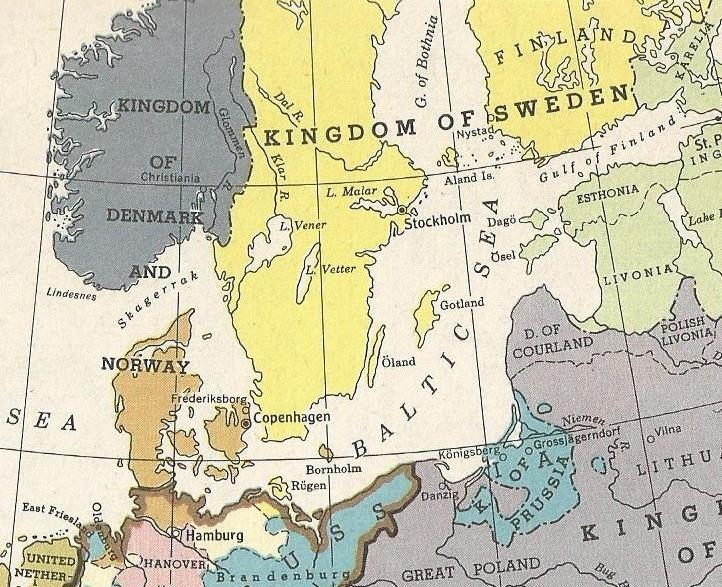 Denmark-Norway and Sweden 1763