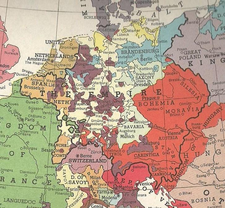 Holy Roman Empire 1648