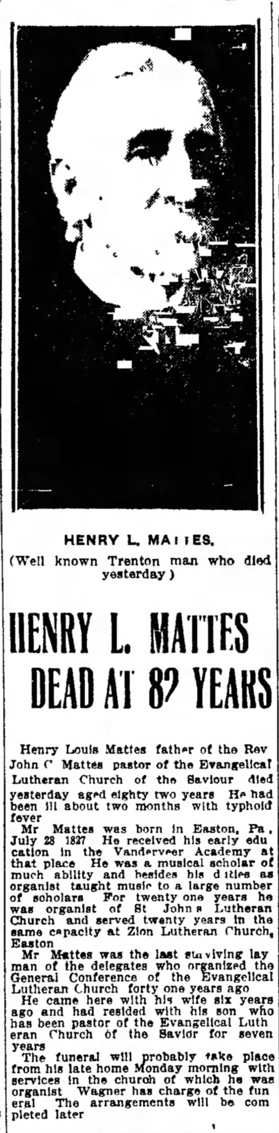 Trenton Evening Times, November 13, 1908, Page 1