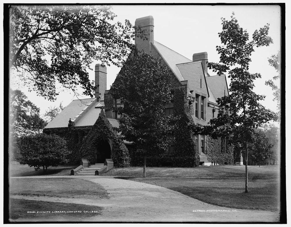 Divinity Library, Harvard, 1900
