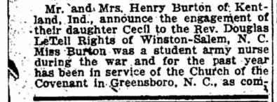 Indianapolis Star, May 18, 1920, page 7 I