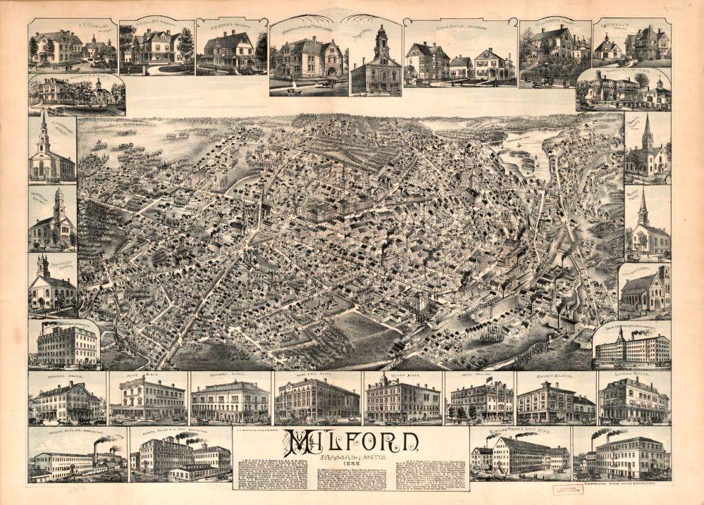 Milford, Massachusetts, 1888