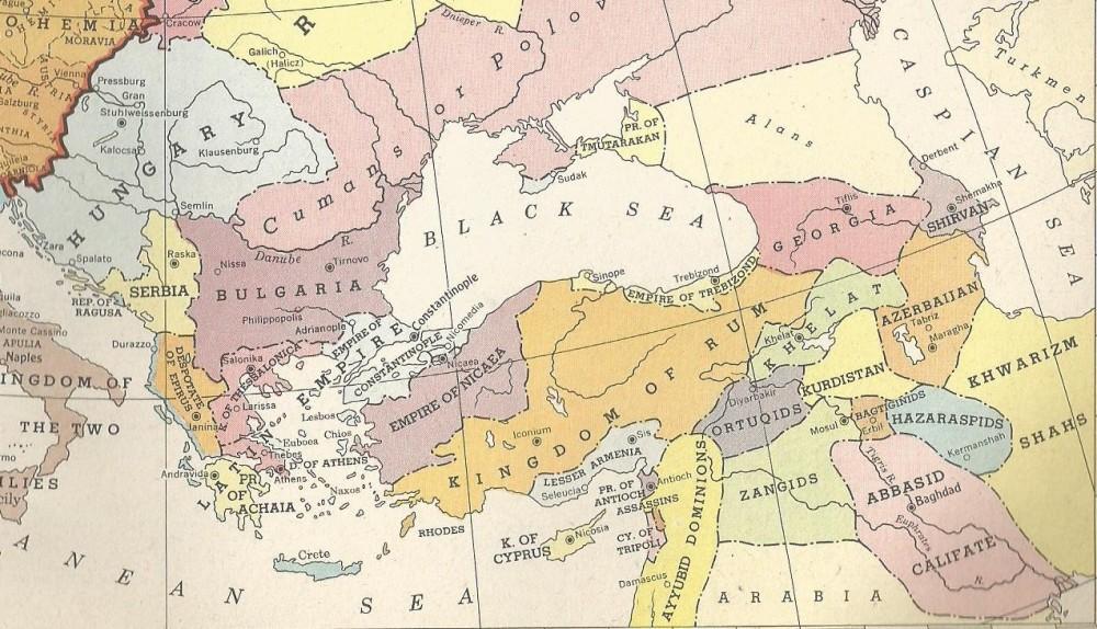 Balkans 1200 CE