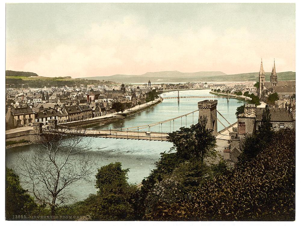 Inverness from the Castle