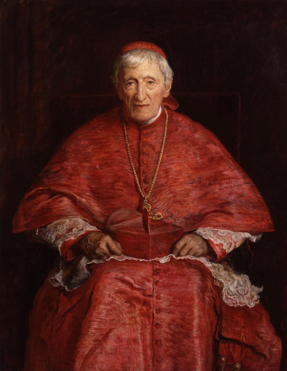 John Henry Newman--Sir John Everett Millais