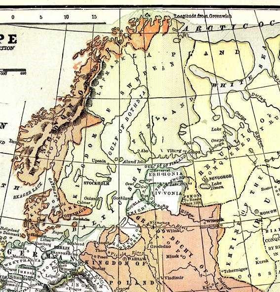 Sweden 1550