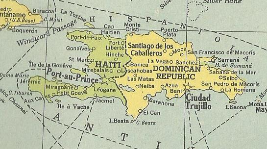 Dominican Republic 1945