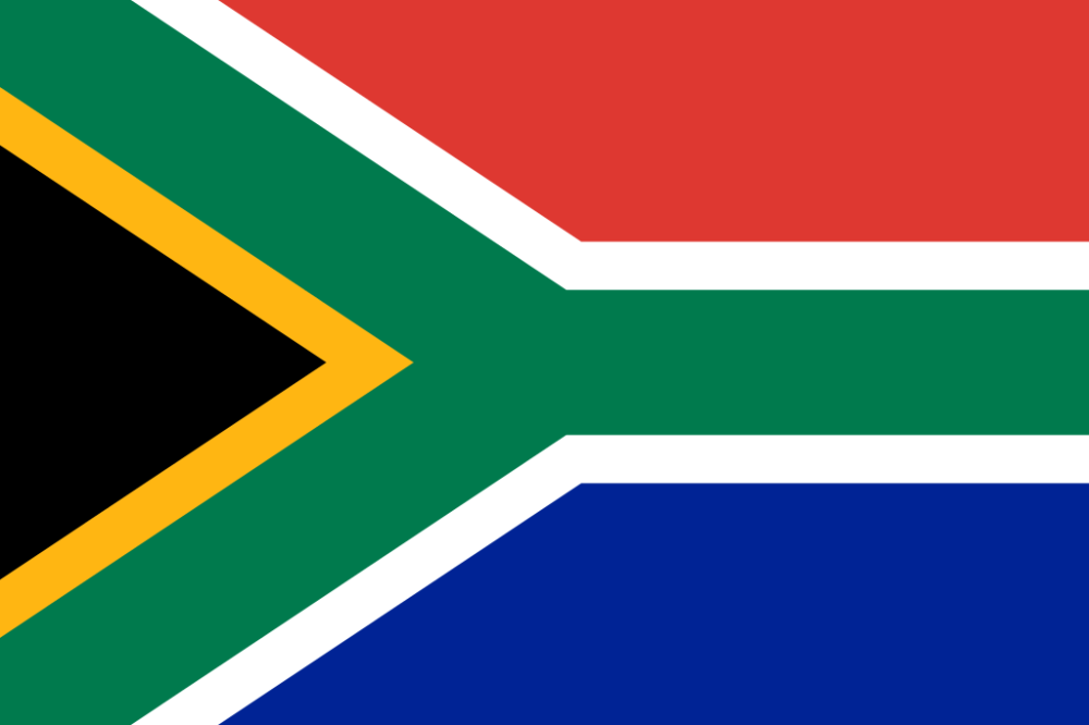 Flag of South Africa 1994
