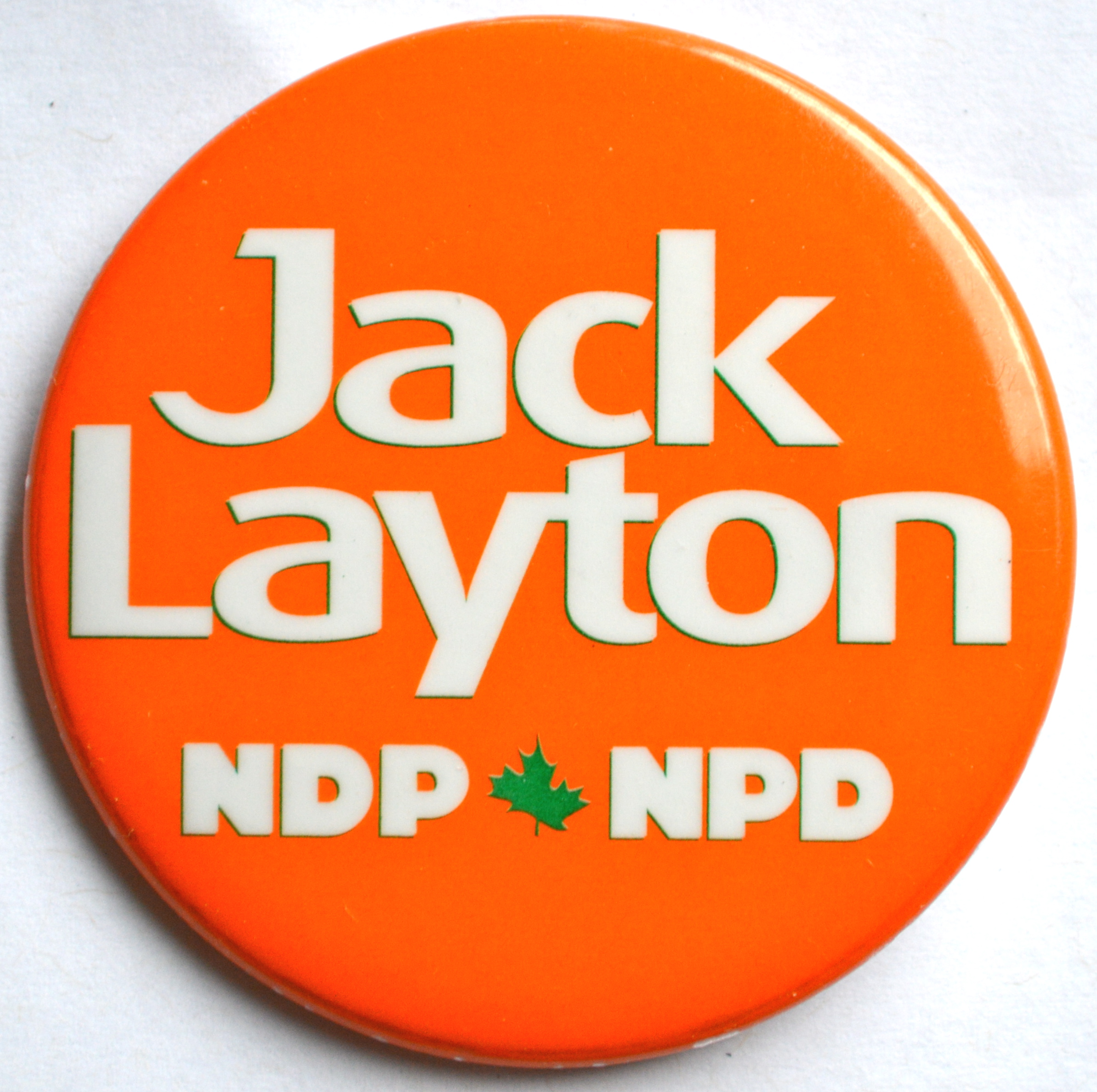 Jack Layton Button