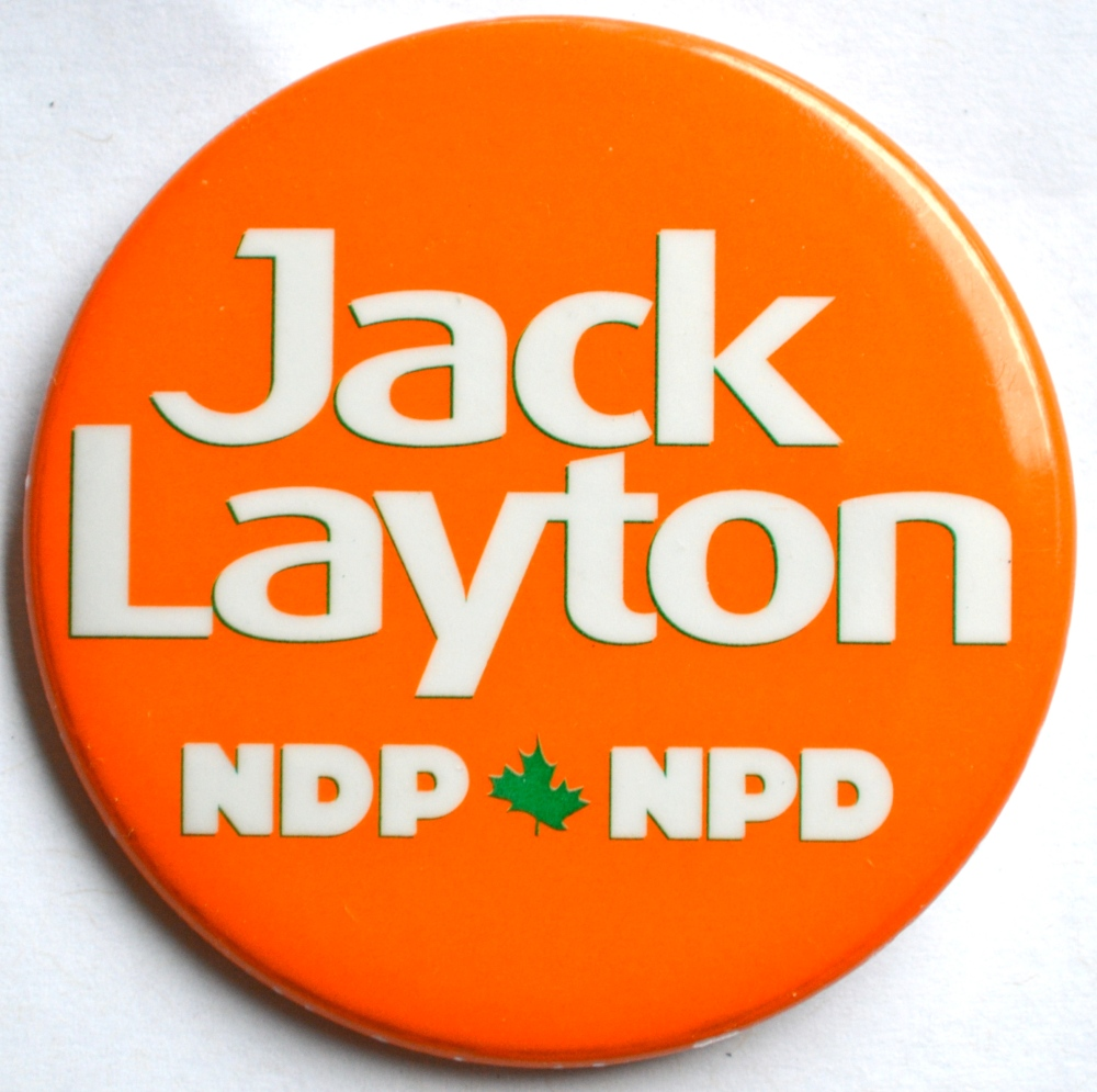 Jack Layton Button