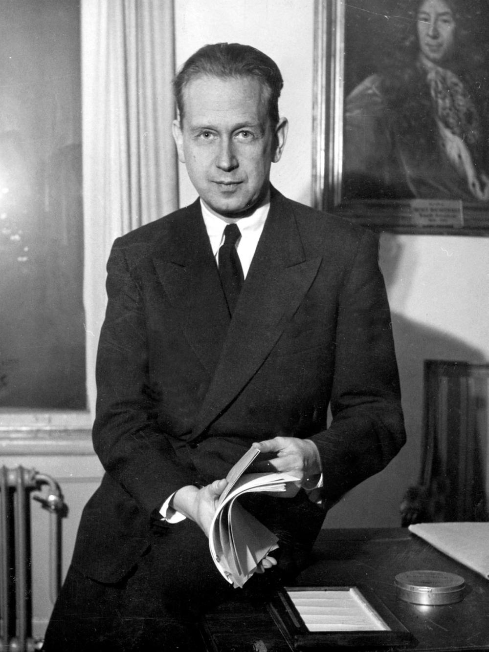 1953 - Dag Hammarskjöld, generalsekreterare FN Foto: Pressens Bild  Kod: 190 COPYRIGHT PRESSENS BILD