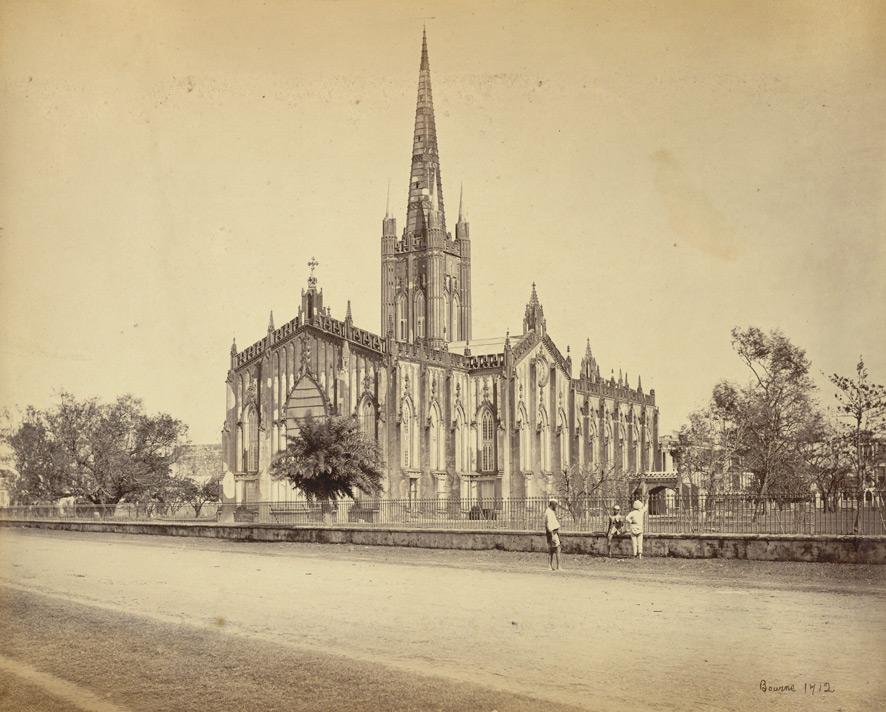 St. Paul's Cathedral, Calcutta, 1865