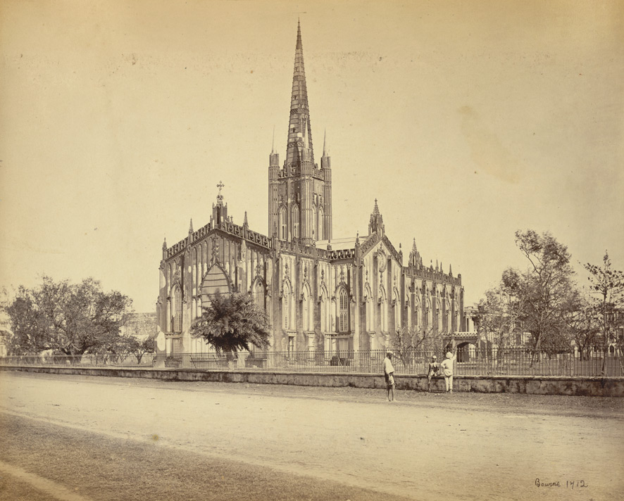 St. Paul's Cathedral, Calcutta, 1865