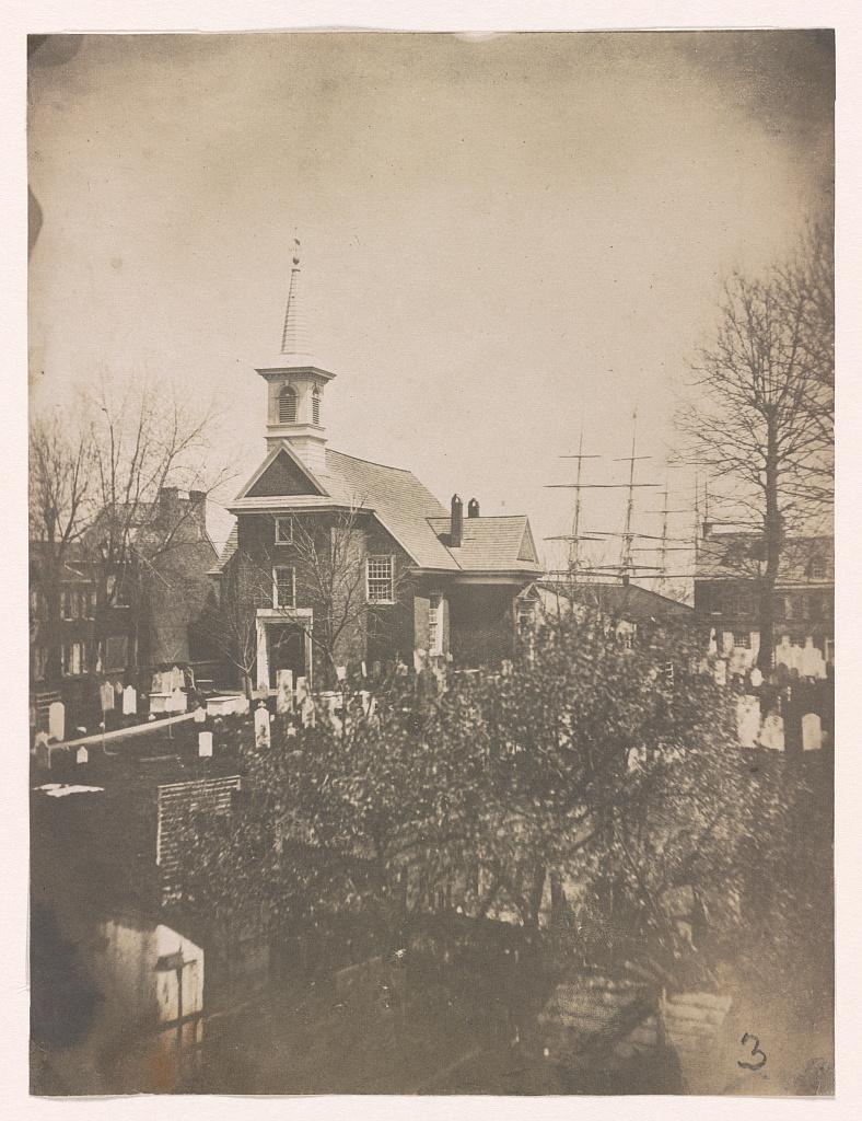 Gloria Dei Church, 1850