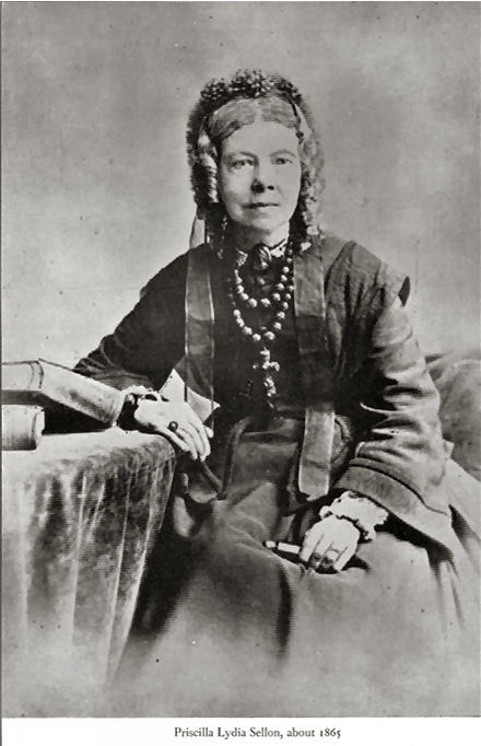 Priscilla Lydia Sellon