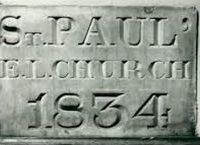 St. Paul's Church Cornerstone