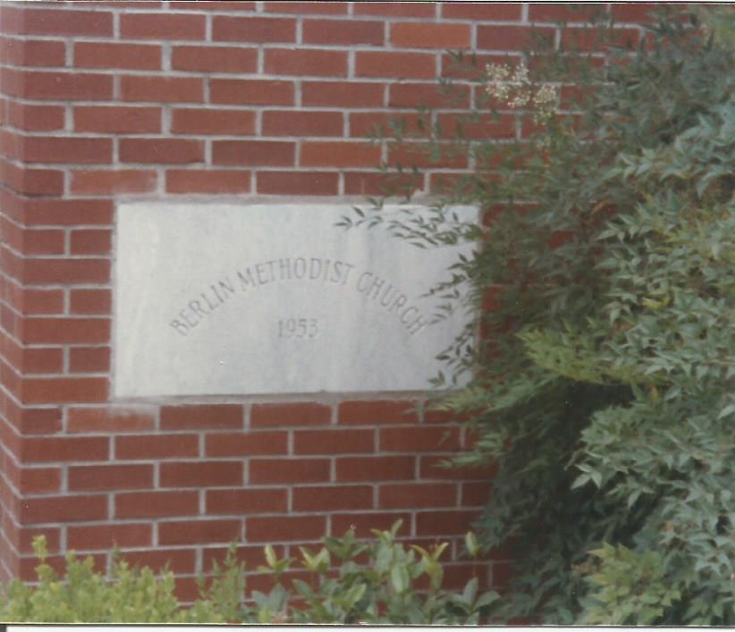 Berlin Church Cornerstone