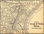 georgia florida railway 1918 system map Map Of Georgia And Florida 908 X 713pixels