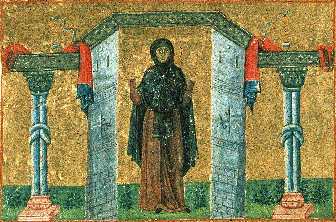 St. Melania the Younger
