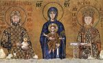 John II Commenus and Irene with the Madonna andChild